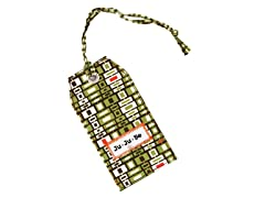 Jungle Maze Be Tagged 6-Pack of Bag Tags