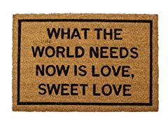 What The World Needs Now is Love, Sweet Love Mat