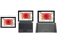 "Microsoft Surface 3 10"" Tablet Bundles"