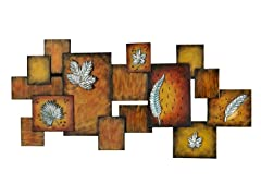 Leaves/Abstract Wall Art Panel