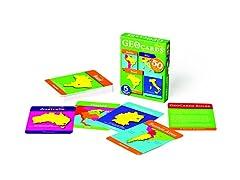 GeoCards World Card Game