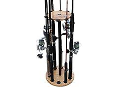 RushCreek Freshwater Fishing Rod Storage