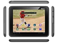 """RCA Dual-Tuner 8"""" 8GB Tablet w/ MobileTV"""
