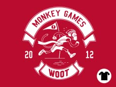2012 Woot Monkey Games - Red