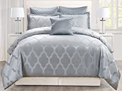 Matson Queen 6Pc Comforter Set
