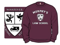 """Murphy's Law School"" Crewneck"