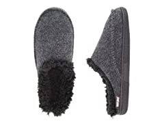 MUK LUKS Men's Faux Wool Clog Slippers