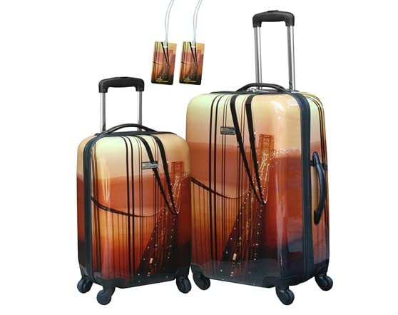 National 2-Pc Spinner Luggage Set