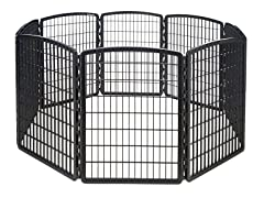 Indoor/Outdoor 8 Panel Play Pen for Dogs