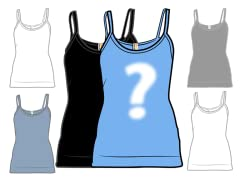 Random Blank Ladies Tank 2-Pack