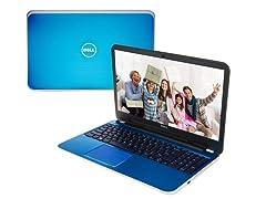 "17.3"" AMD Quad-Core Laptop - Indigo Blue"