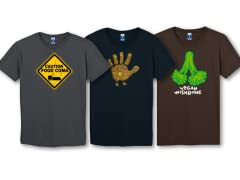 Shop safe Thanksgiving tees here!