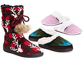 MUK LUK Women's Slipper Clearance