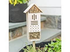 Touch Of ECO Bee & Butterfly Wooden Home