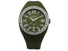 Men's BOX 40Z GREEN Green Dial Watch
