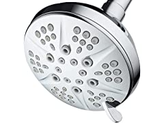 "HotelSpa Giant 6-Setting 4.3"" Luxury Shower Head"