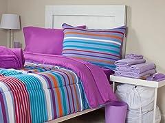 Capri 26pc Reversible Dorm Set-Full
