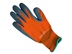 Maxkin 6 Pairs Orange Latex Foam Gloves