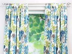 Monaco Breeze Tab Curtain Panel-3 Sizes