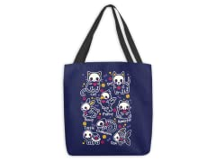 Pet Skeletons Small Tote Bag