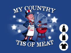 My country 'tis of meat