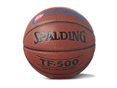 Spalding 24-Hour Fitness Logo Basketball