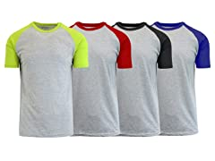 GBH Men's Premium Raglan T-Shirt 4-Pack