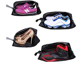 Travel Shoe Bags, Set of 4