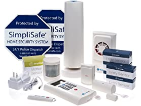 SimpliSafe Wireless Home Security Deluxe Pack