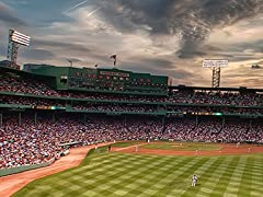 Fenway Park at Sunset, Red Sox