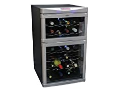 24-Bottle Dual-Zone Wine Cellar