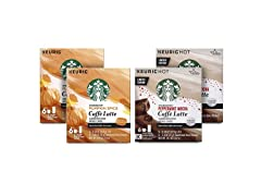 Starbucks Latte Kit-Pumpkin & Peppermint
