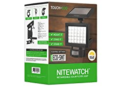 Touch Of ECO NITEWATCH Solar 30 LED Flood Light