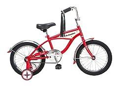 "Boy's Retro Woody 16"" Bike - Red"