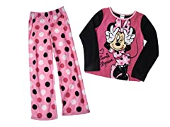 Minnie Mouse 2-Piece Fleece Set (4-10)