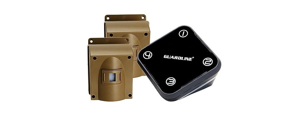 Guardline Wireless Driveway Alarm w/Two Sensors
