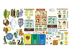 Peel, Play & Learn Environmental Science Wall Play Set