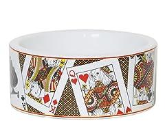 Monte Carlo Porcelain Pet Bowl