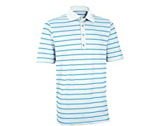 Ashworth Performance Golf Shirt - Wht/Ash