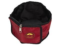 Travel Pet Bowl Wallet - Red