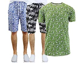 GBH Men's Printed Shorts and Tees