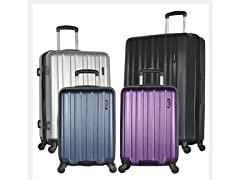 Raven-3 Piece Expandable Hard-Case Luggage Set