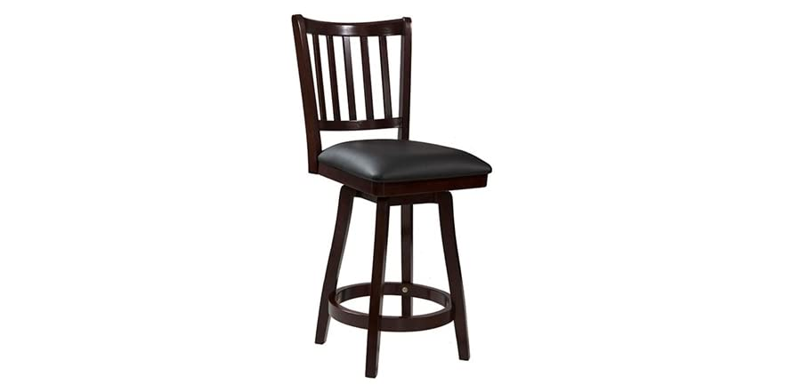 Big Amp Tall Slat Back Stool 2 Sizes