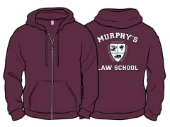 """""""Murphy's Law School"""" Zip Hoodie"""