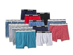 Gildan Men's 12-Pack 100% Cotton Briefs