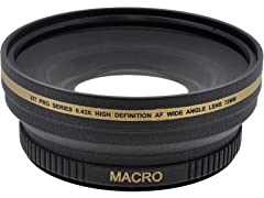 Xit 0.43 Wide Angle Lens - 2pk