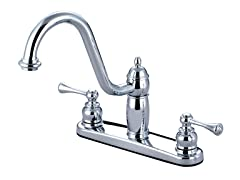 Kingston Brass Handle Kitchen Faucet