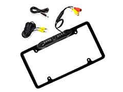 License Plate Frame Rear View Backup Camera