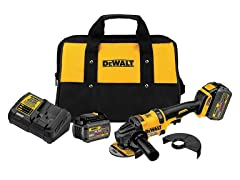 DeWALT FLEXVOLT Grinder with Kickback Brake Kit