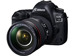 Canon EOS 5D Mark IV DSLR w/ EF 24-105mm Lens Kit